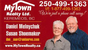 MyTown Realty Daniel Melnychuk and Susan Shoemaker