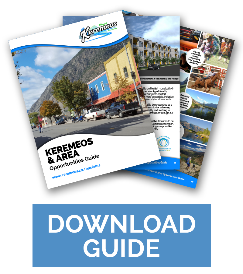 Download the Keremeos and Area Opportunities Guide